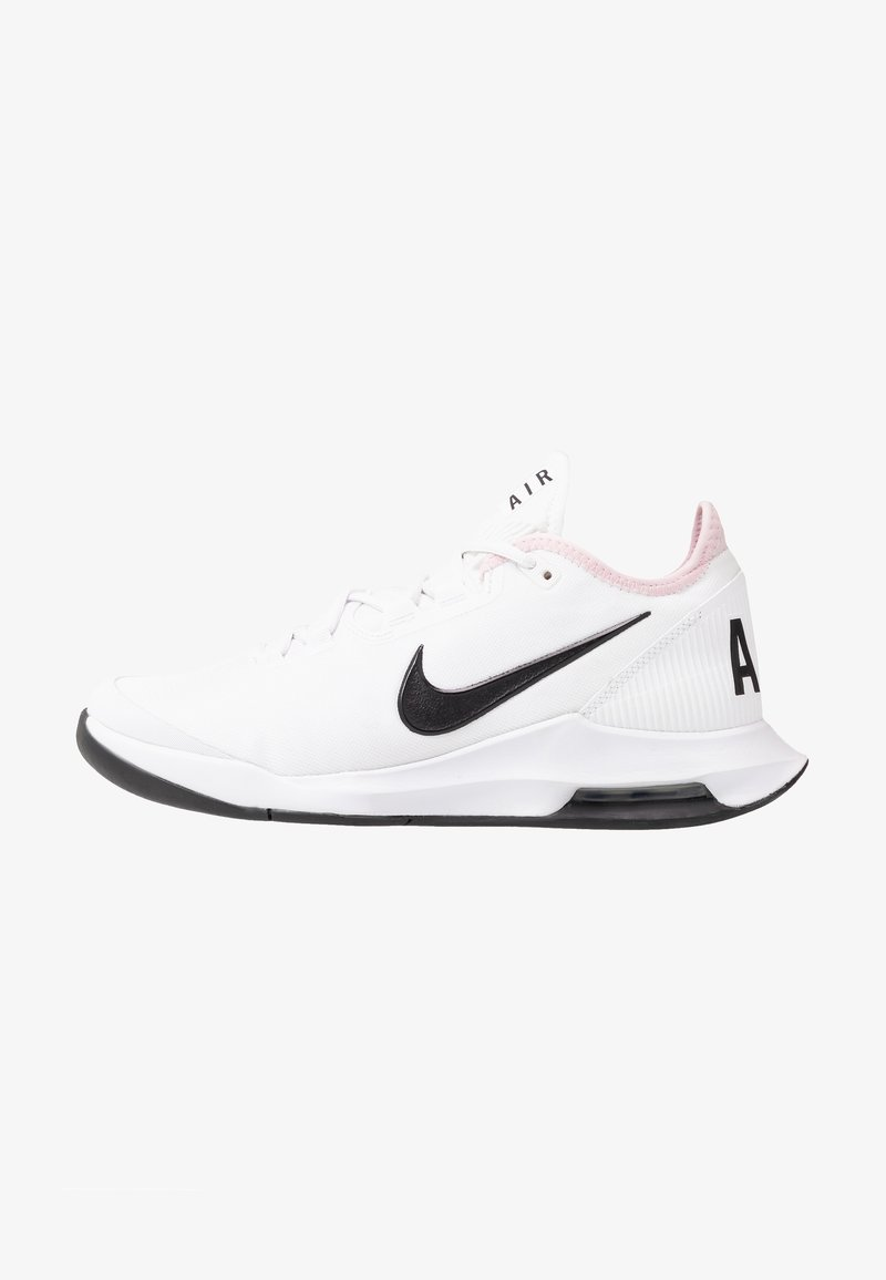 Nike Performance - COURT AIR MAX WILDCARD - Multicourt tennis shoes - white/black/pink foam