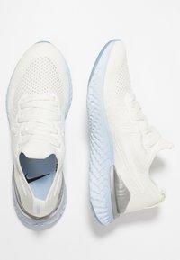 Nike Performance - EPIC REACT FLYKNIT 2 - Hardloopschoenen neutraal - sail/metallic silver - 1