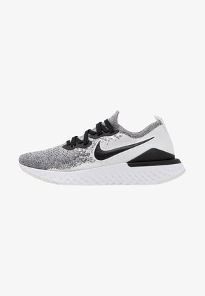 EPIC REACT FLYKNIT 2 - Neutral running shoes - white/black/pure platinum