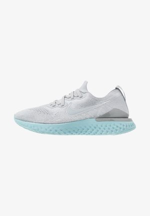 EPIC REACT FLYKNIT 2 - Neutral running shoes - wolf grey/metallic silver