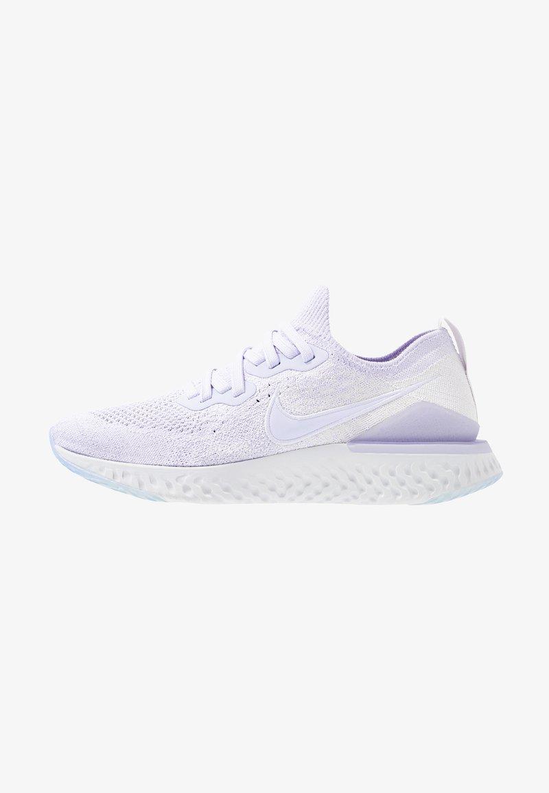 Nike Performance - EPIC REACT FLYKNIT 2 - Obuwie do biegania treningowe - lavender mist/vast grey/white