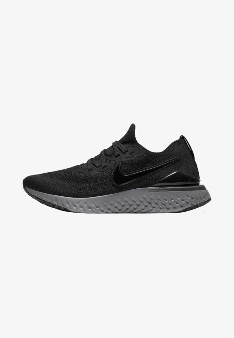 Nike Performance - EPIC REACT FLYKNIT 2 - Hardloopschoenen neutraal - black/anthracite