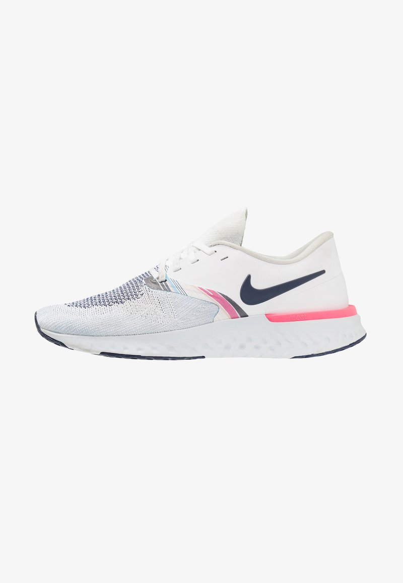 Nike Performance - ODYSSEY REACT - Laufschuh Neutral - white/blue void/hyper pink