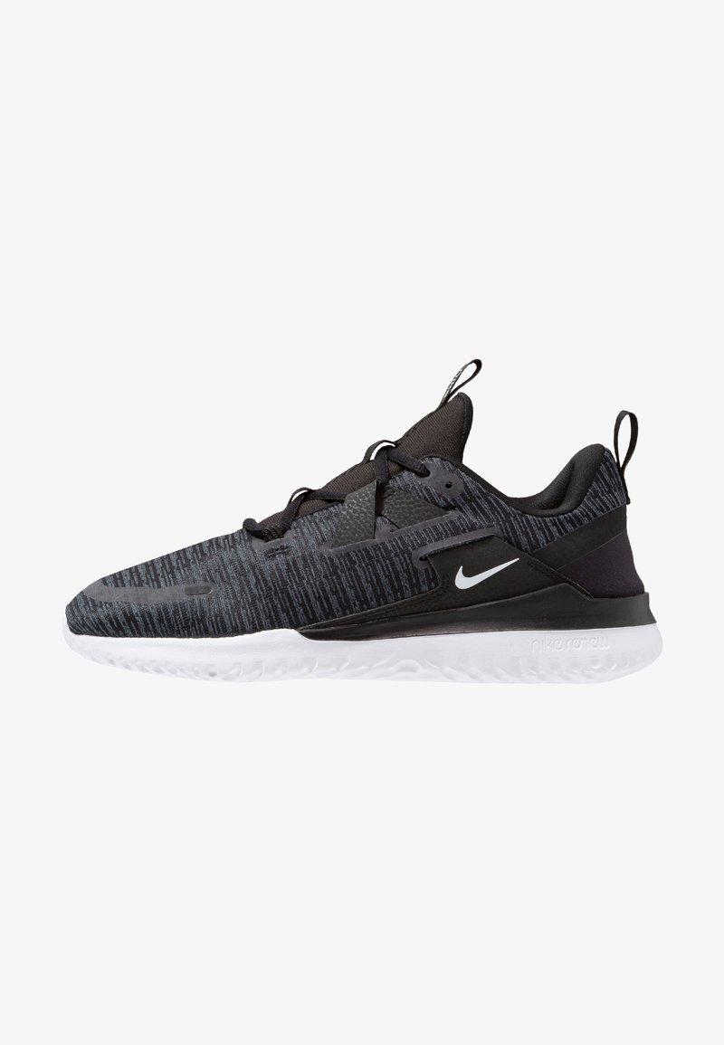Nike Performance - RENEW ARENA - Juoksukenkä/neutraalit - black/white/anthracite