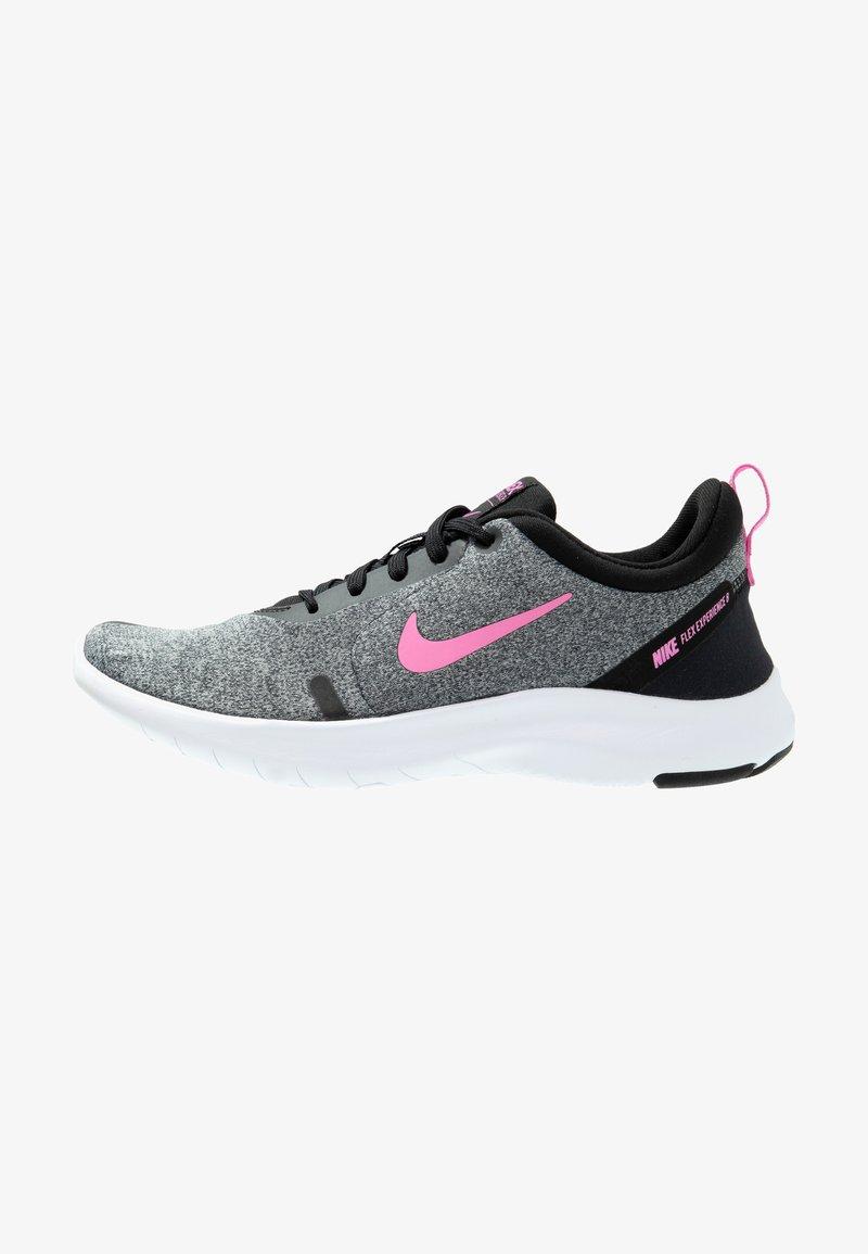 Nike Performance - FLEX EXPERIENCE RN 8 - Paljasjalkajuoksukengät - pure platinum/psychic pink/black/metallic dark grey/wolf grey/white