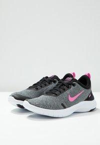 Nike Performance - FLEX EXPERIENCE RN 8 - Laufschuh Natural running - pure platinum/psychic pink/black/metallic dark grey/wolf grey/white - 2