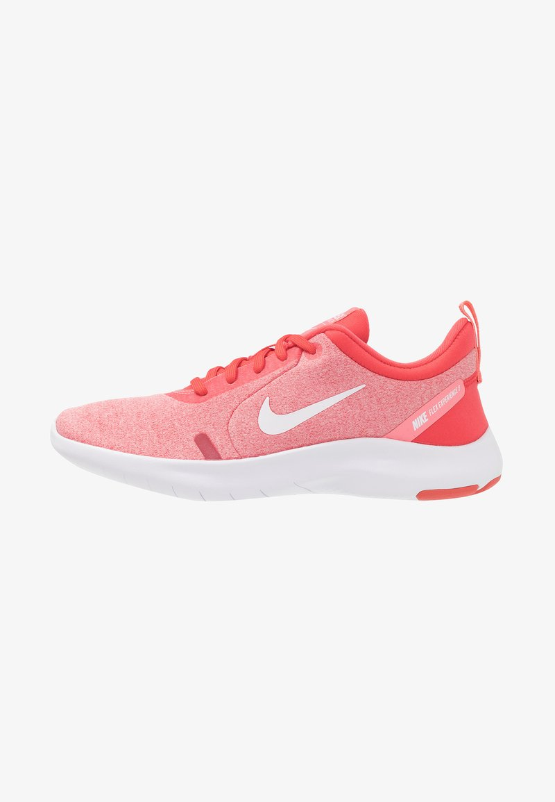 Nike Performance - FLEX EXPERIENCE RN 8 - Minimalist running shoes - ember glow/white/pink gaze/bleached coral