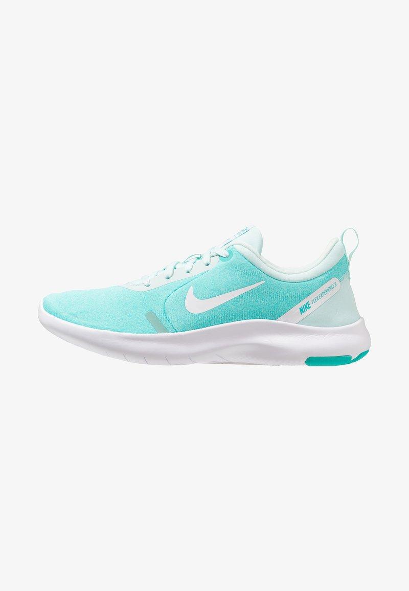 Nike Performance - FLEX EXPERIENCE RN 8 - Minimalist running shoes - teal tint/white/hyper jade