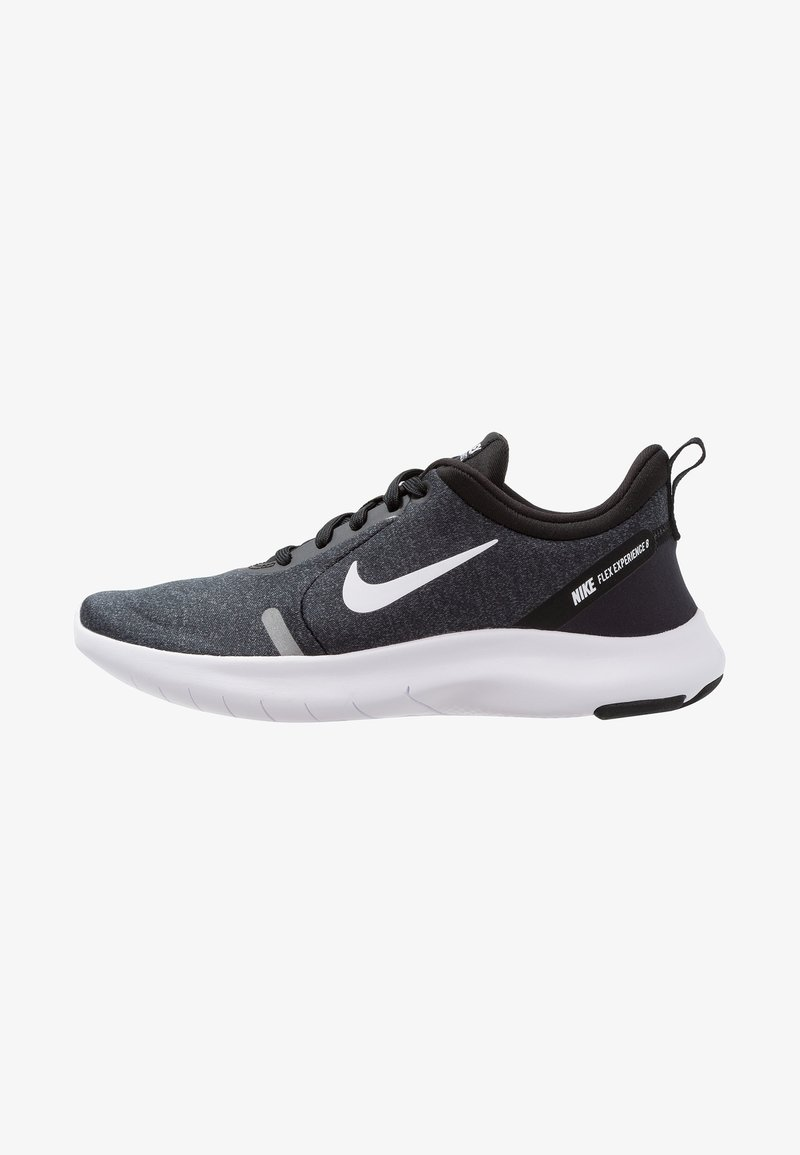 Nike Performance - FLEX EXPERIENCE RN 8 - Loopschoen neutraal - black/white/cool grey/reflect silver