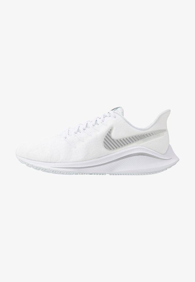 AIR ZOOM VOMERO  - Obuwie do biegania treningowe - white/metallic silver/aura