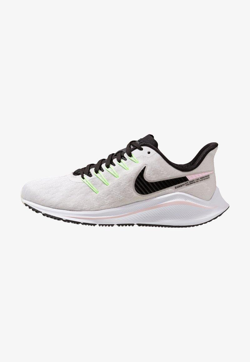 Nike Performance - AIR ZOOM VOMERO  - Zapatillas de running neutras - vast grey/black/pink foam/lime blast/white