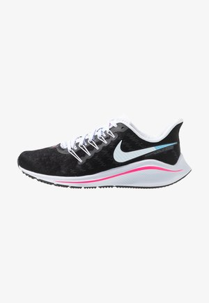 AIR ZOOM VOMERO  - Neutral running shoes - black/hyper pink/football grey/pink beam