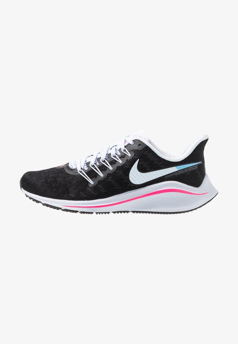Nike Performance - AIR ZOOM VOMERO  - Laufschuh Neutral - black/hyper pink/football grey/pink beam