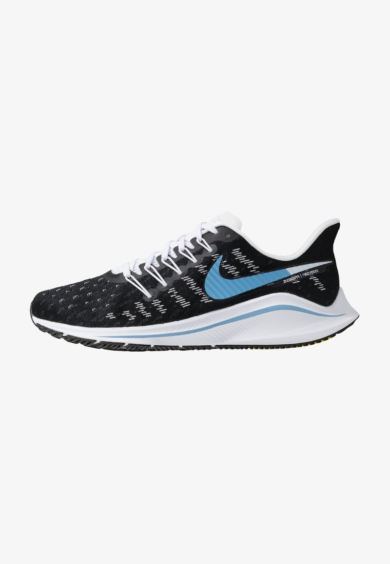 Nike Performance - AIR ZOOM VOMERO  - Obuwie do biegania treningowe - black/light blue/half blue/white