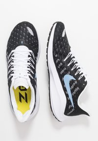 Nike Performance - AIR ZOOM VOMERO  - Obuwie do biegania treningowe - black/light blue/half blue/white - 1