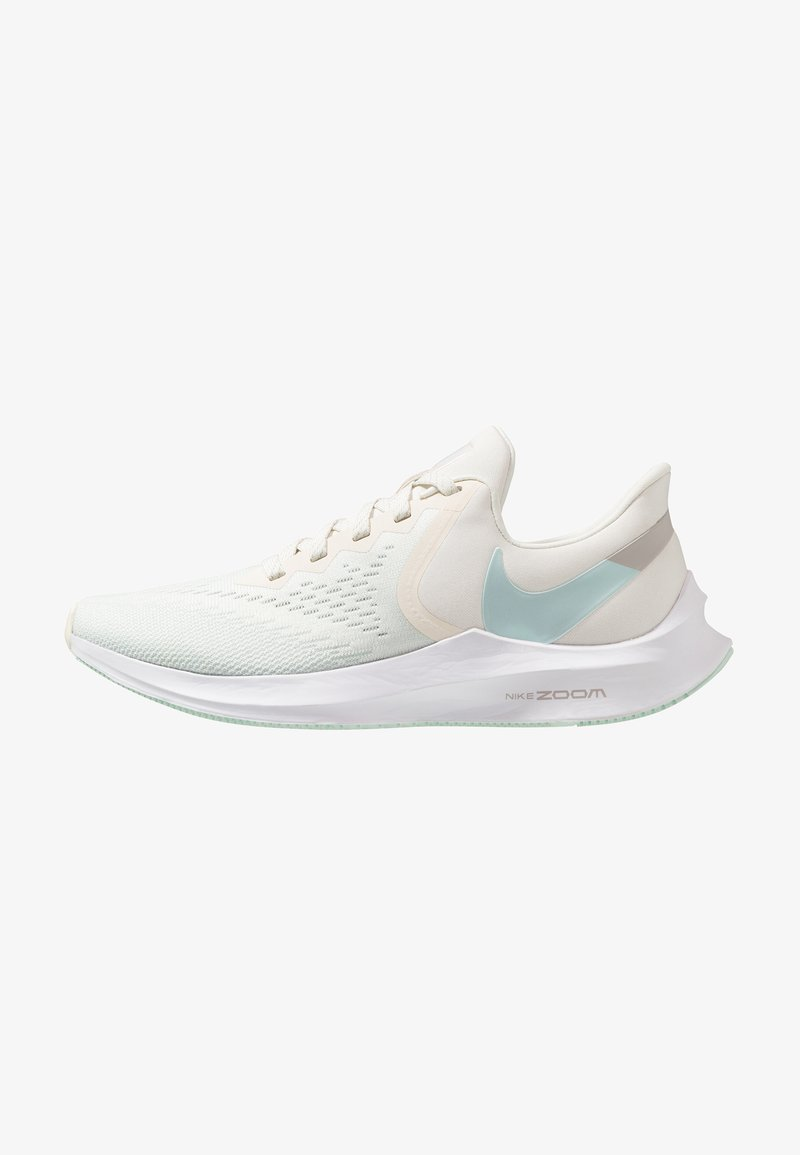 Nike Performance - ZOOM WINFLO 6 - Neutral running shoes - pale ivory/teal tint/moon particle/white