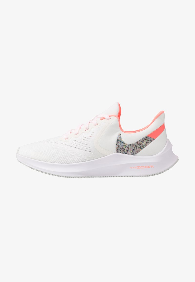 Nike Performance - ZOOM WINFLO - Obuwie do biegania treningowe - summit white/lava glow/white
