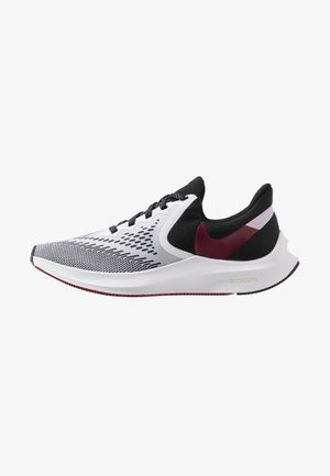ZOOM WINFLO - Neutral running shoes - white/noble red/black/iced lilac/pistachio frost
