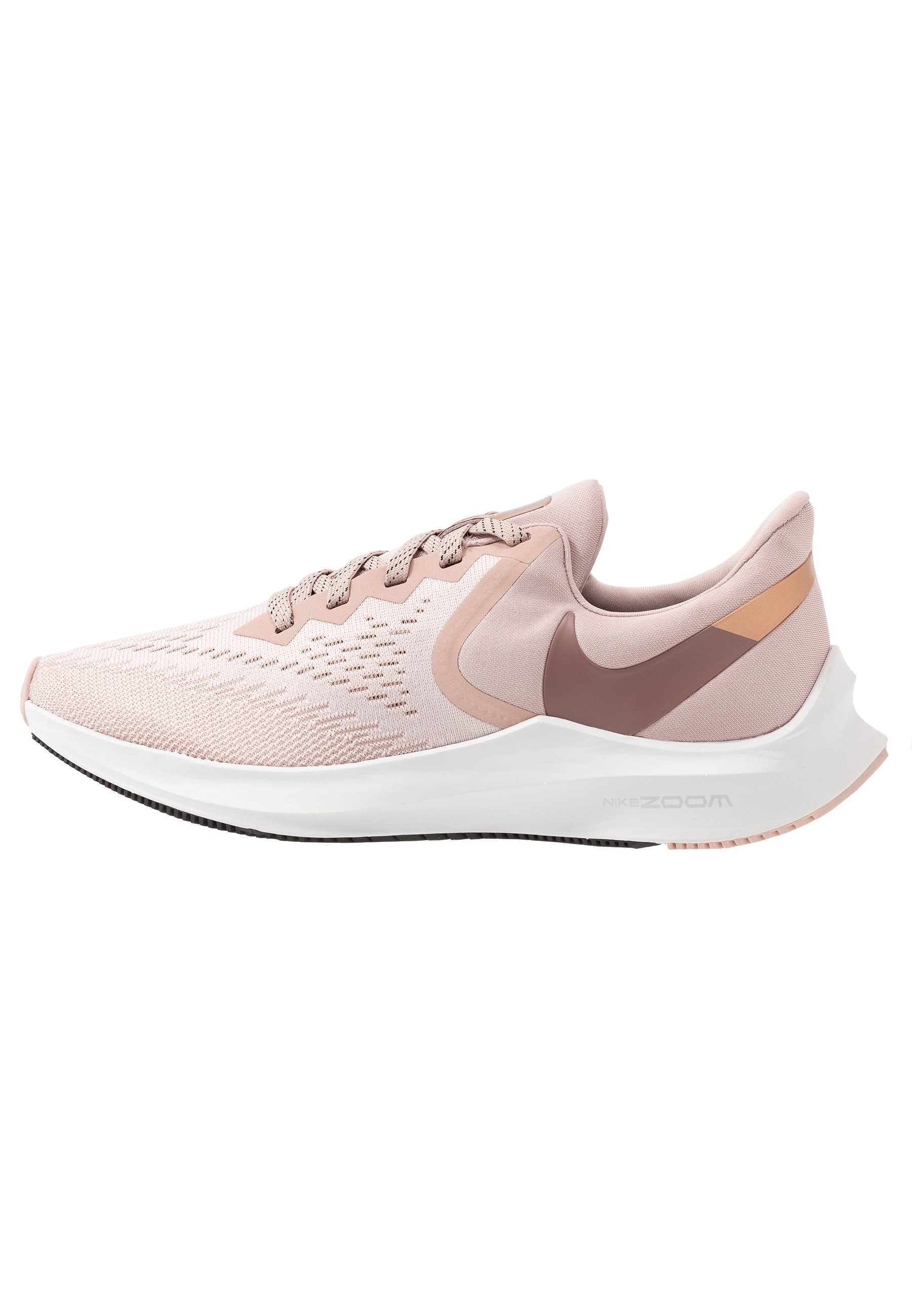 Nike Performance Zoom Winflo - Neutrala Löparskor Stone Mauve/smokey Mauve/barely Rose/metallic Red Bronze/metallic Silver/black