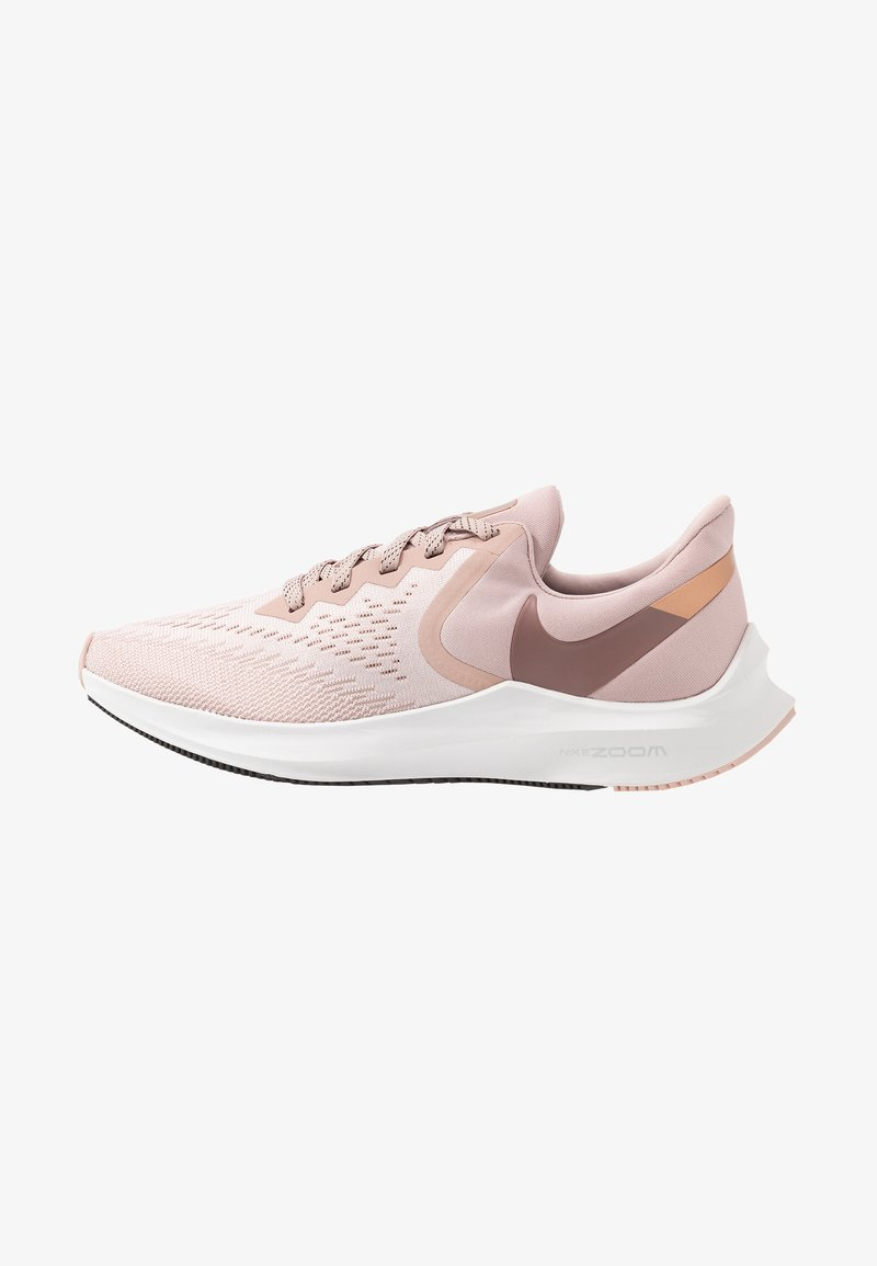 Nike Performance - ZOOM WINFLO - Neutrální běžecké boty - stone mauve/smokey mauve/barely rose/metallic red bronze/metallic silver/black
