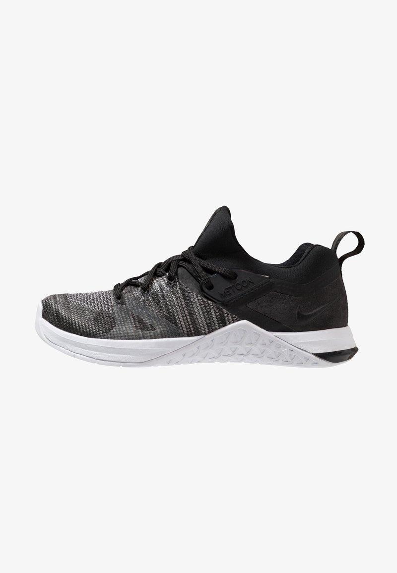 Flyknit Fitness Et white Performance matte Metcon Black Nike De 3Chaussures Silver D'entraînement sdthQrCx