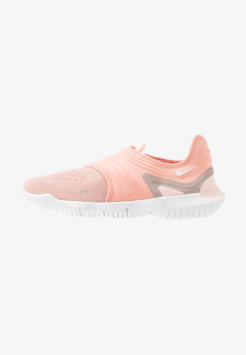 Nike Performance - FREE RN FLYKNIT 3.0 - Loopschoen neutraal - pink quartz/white/echo pink