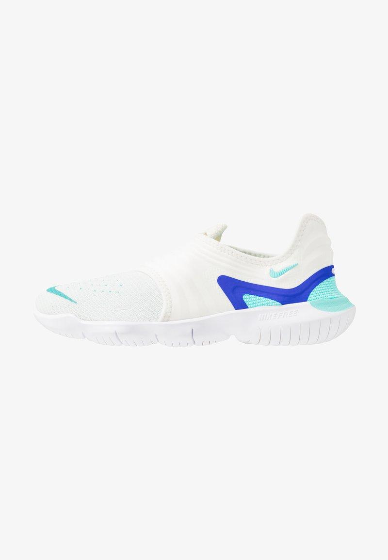 Nike Performance - FREE RN FLYKNIT 3.0 - Laufschuh Natural running - sail/aurora green/racer blue