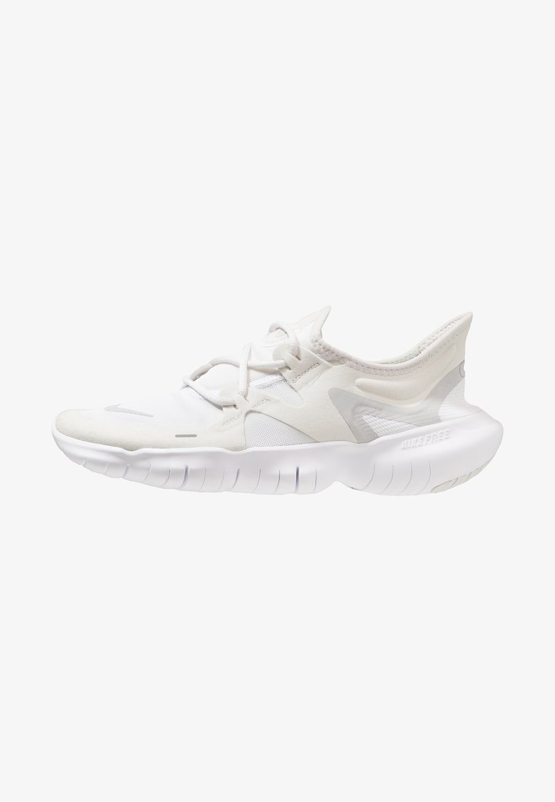 Nike Performance - FREE RN 5.0 - Minimalist running shoes - platinum tint/pure platinum/white/volt