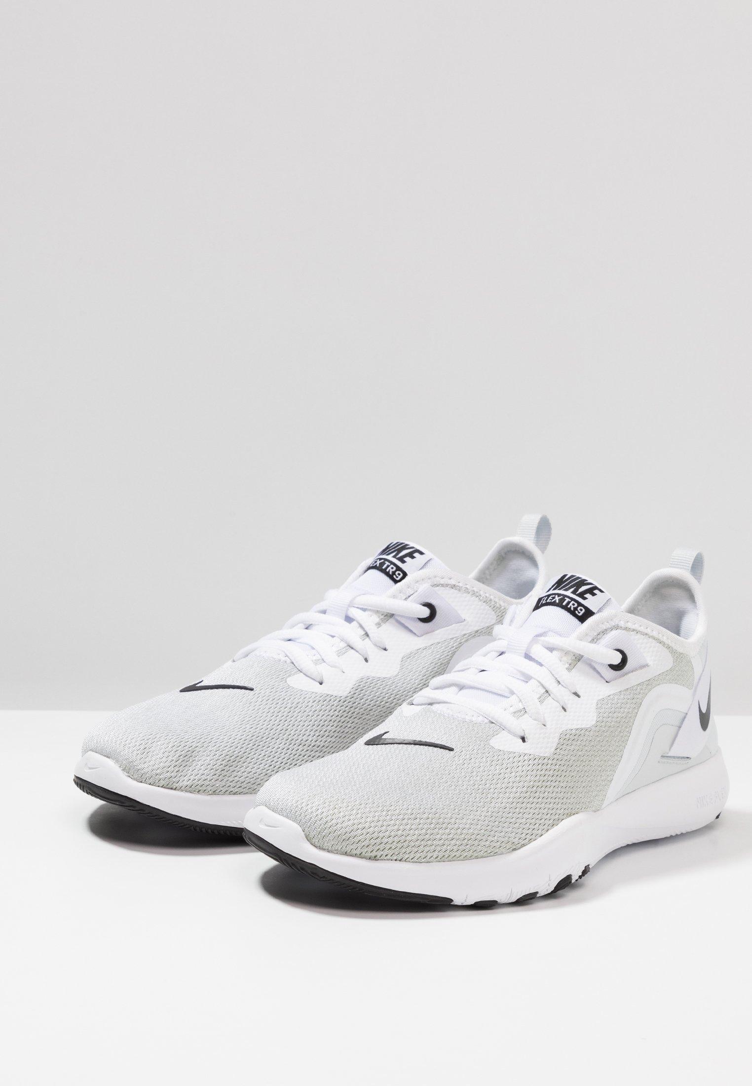 Nike White De Performance black Platinum Flex Trainer D'entraînement 9Chaussures pure Et Fitness QWdCBoerx