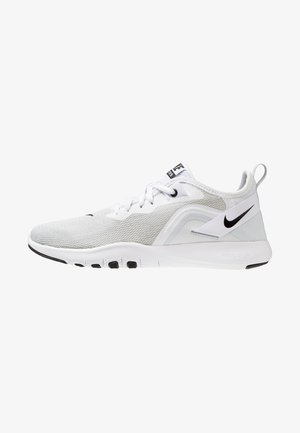 FLEX TRAINER 9 - Competition running shoes - white/black/pure platinum