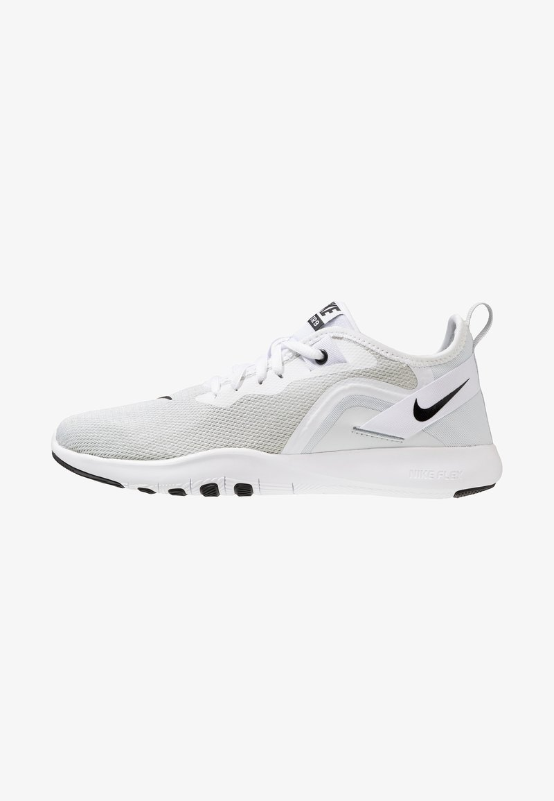 Nike Performance - FLEX TRAINER 9 - Obuwie do biegania startowe - white/black/pure platinum