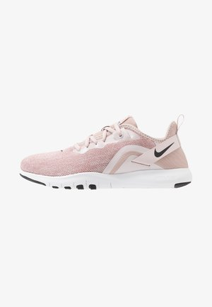 FLEX TRAINER 9 - Sports shoes - stone mauve/black/barely rose/metallic red bronze/metallic silver/white