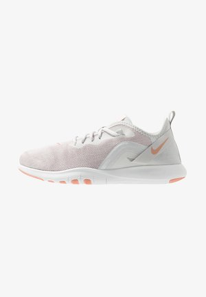 FLEX TRAINER 9 - Chaussures de running stables - vast grey/pink quartz/echo pink/white