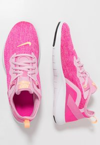 Nike Performance - FLEX TRAINER 9 - Competition running shoes - pink rise/melon tint/laser fuchsia - 1
