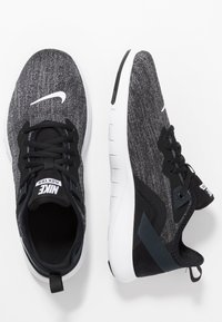 Nike Performance - FLEX - Sneakers - black/white/anthracite - 1