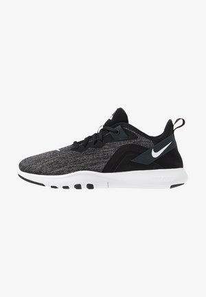 FLEX TRAINER 9 - Sports shoes - black/white/anthracite