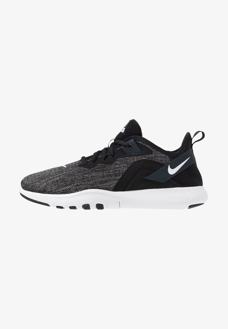 Nike Performance - FLEX - Sneakers - black/white/anthracite