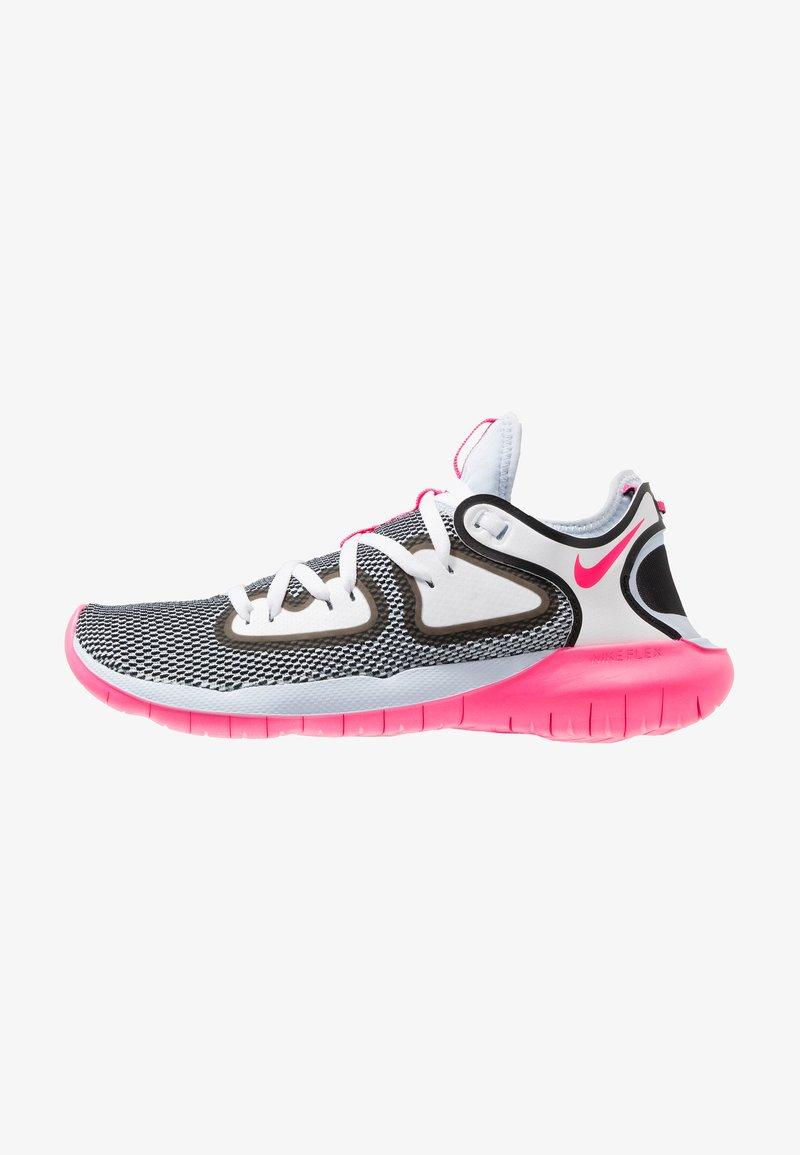 Nike Performance - FLEX 2019 RN - Obuwie do biegania treningowe - half blue/hyper pink/white/black