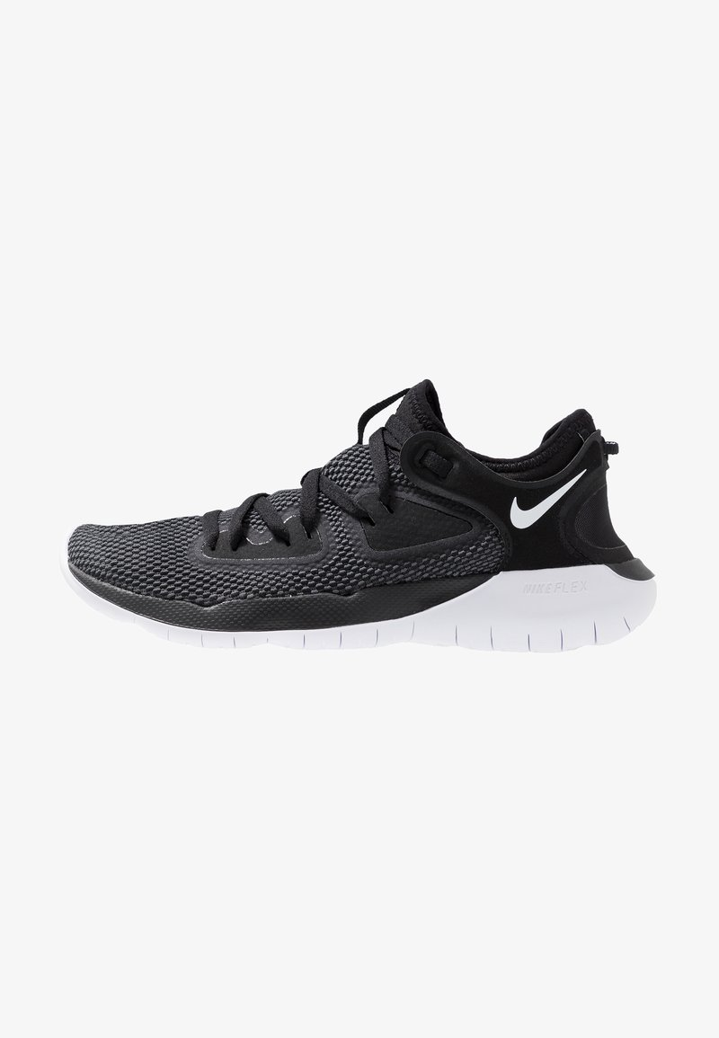Nike Performance - FLEX 2019 RN - Neutral running shoes - black/white/anthracite