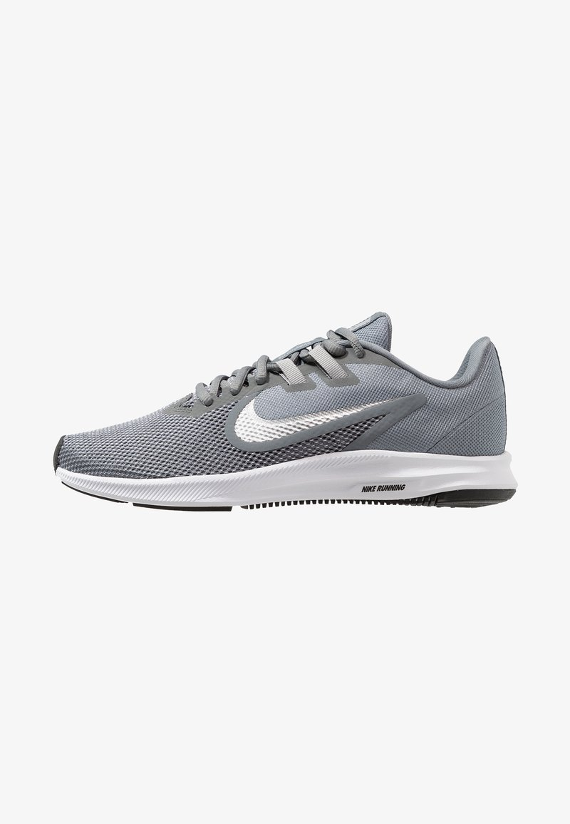 Nike Performance - DOWNSHIFTER  - Neutral running shoes - cool grey/metallic silver/wolf grey