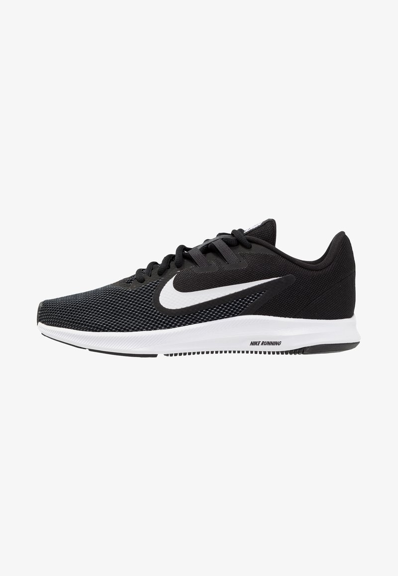 Nike Performance - DOWNSHIFTER  - Neutral running shoes - black/white/anthracite/cool grey