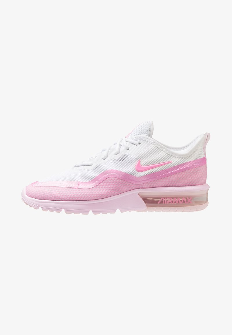 Nike Performance - AIRMAX SEQUENT 4.5 - Laufschuh Neutral - white/pink foam/psychic pink