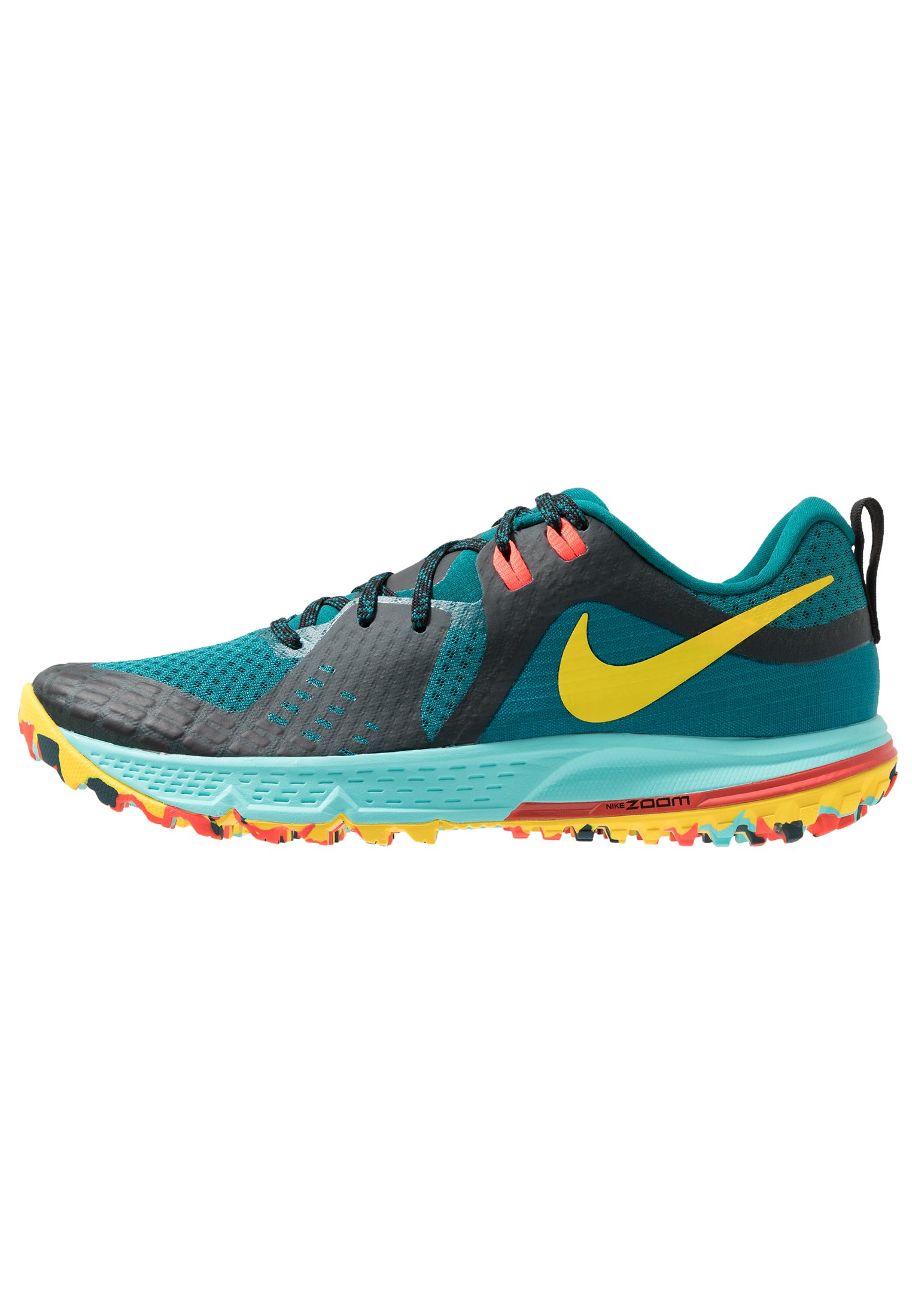 AIR ZOOM WILDHORSE 5 Scarpe da trail running geode tealchrome yellowblackaurora greenbright crimson