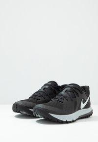 Nike Performance - AIR ZOOM WILDHORSE 5 - Obuwie do biegania Szlak - black/barely grey/thunder grey/wolf grey - 2