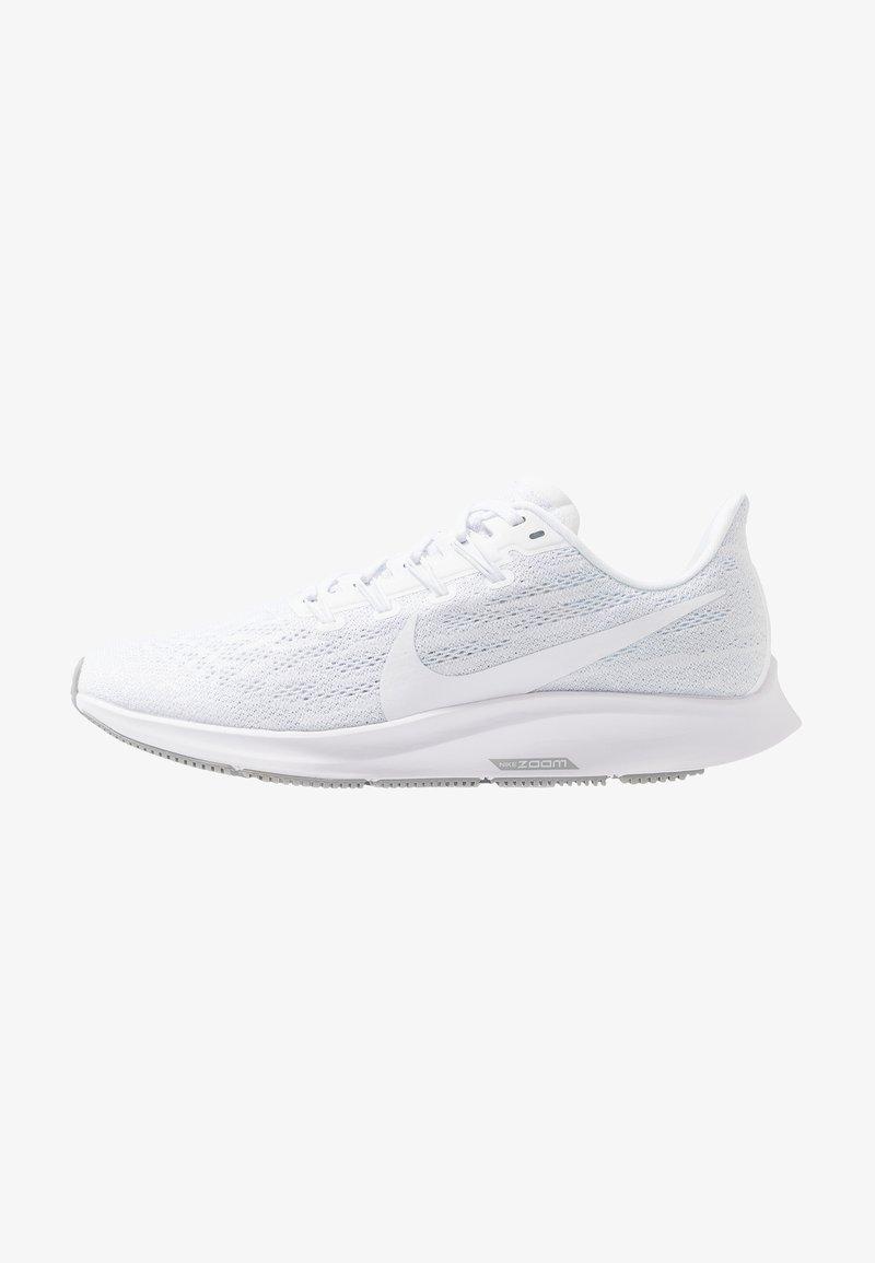 Nike Performance - AIR ZOOM PEGASUS 36 - Juoksukenkä/vakaus - white/half blue/wolf grey