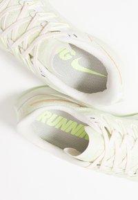 Nike Performance - AIR ZOOM PEGASUS 36 - Stabilty running shoes - phantom/beige/barely volt - 5