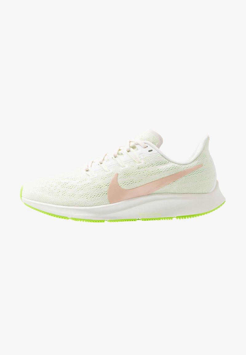 Nike Performance - AIR ZOOM PEGASUS 36 - Stabilty running shoes - phantom/beige/barely volt