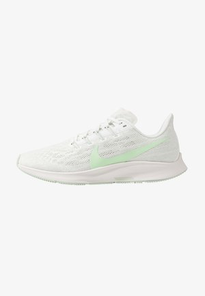 AIR ZOOM PEGASUS 36 - Zapatillas de running estables - summit white/vapor green/spruce aura/pistachio frost