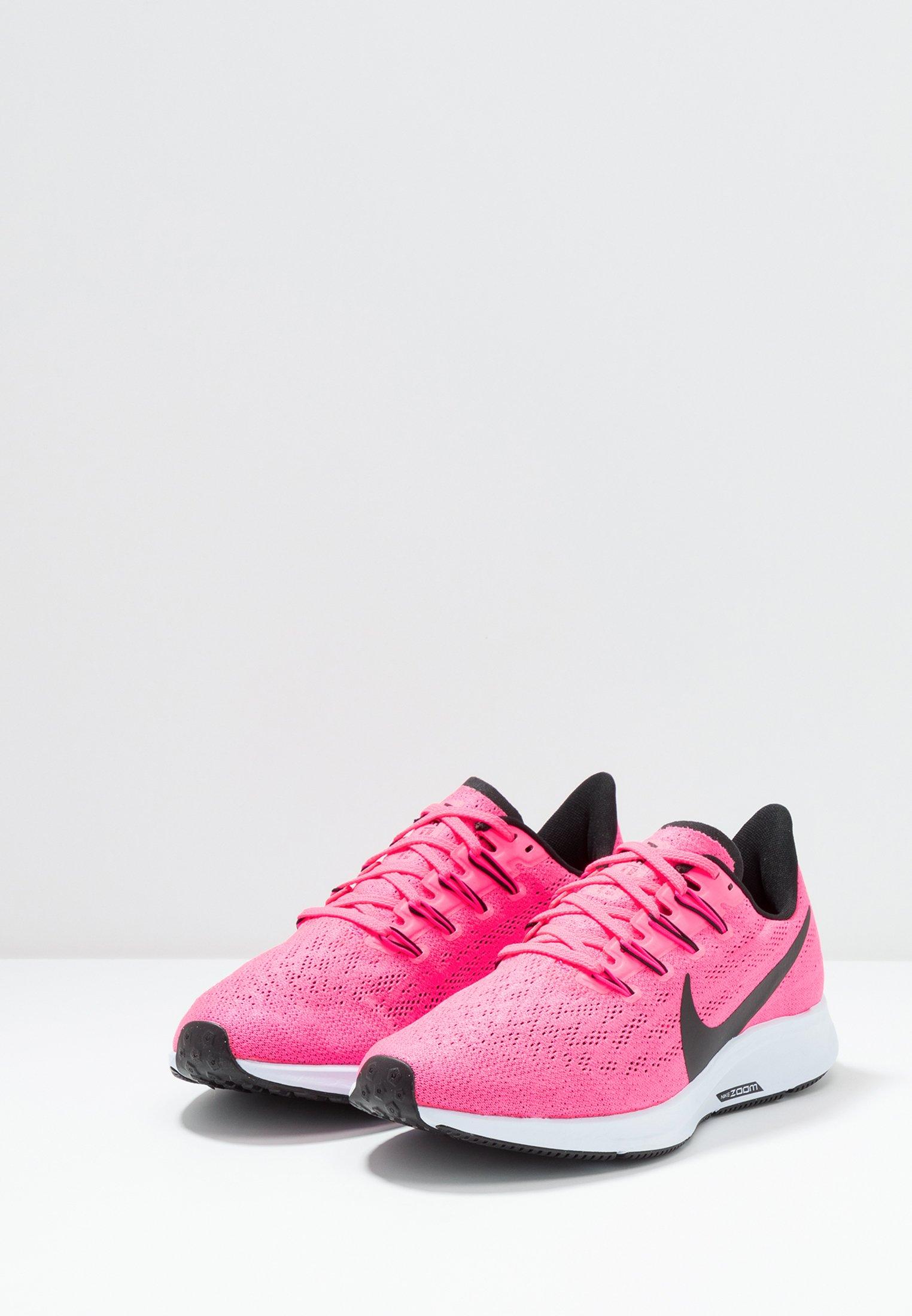 AIR ZOOM PEGASUS 36 - Stabiliteit hardloopschoenen - hyper pink/black/half  blue