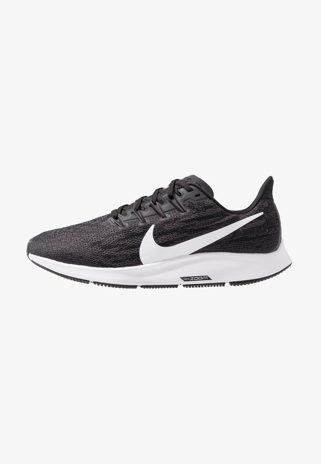 AIR ZOOM PEGASUS 36 - Chaussures de running stables - black/white/thunder grey